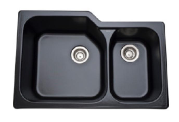 """Rohl Allia 33"""" Double Basin Undermount Kitchen Sink"""