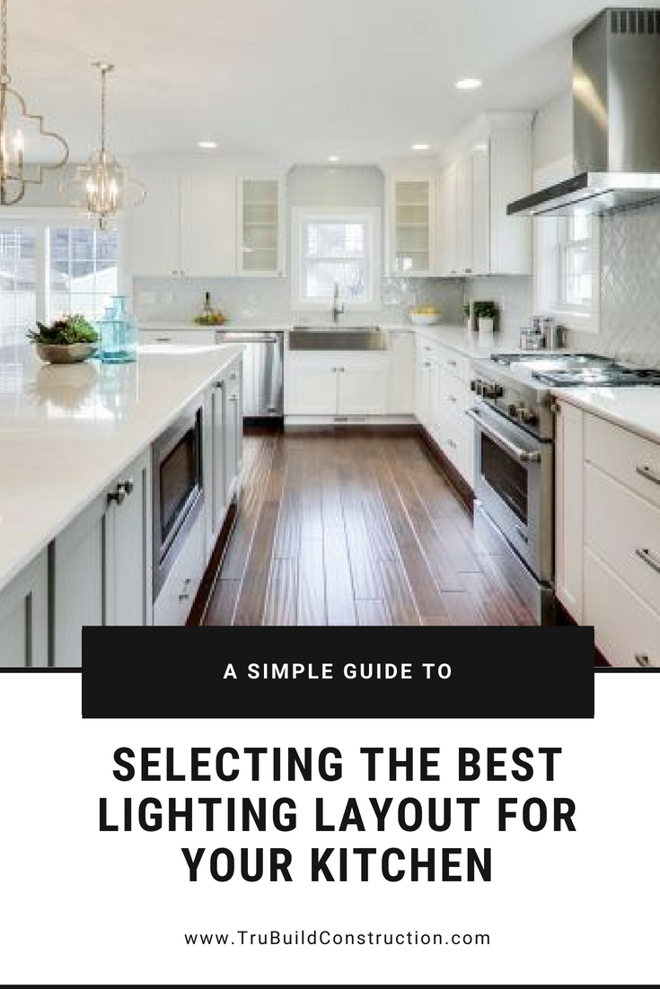 A simple guide to selecting the best lighting layout for your kitchen