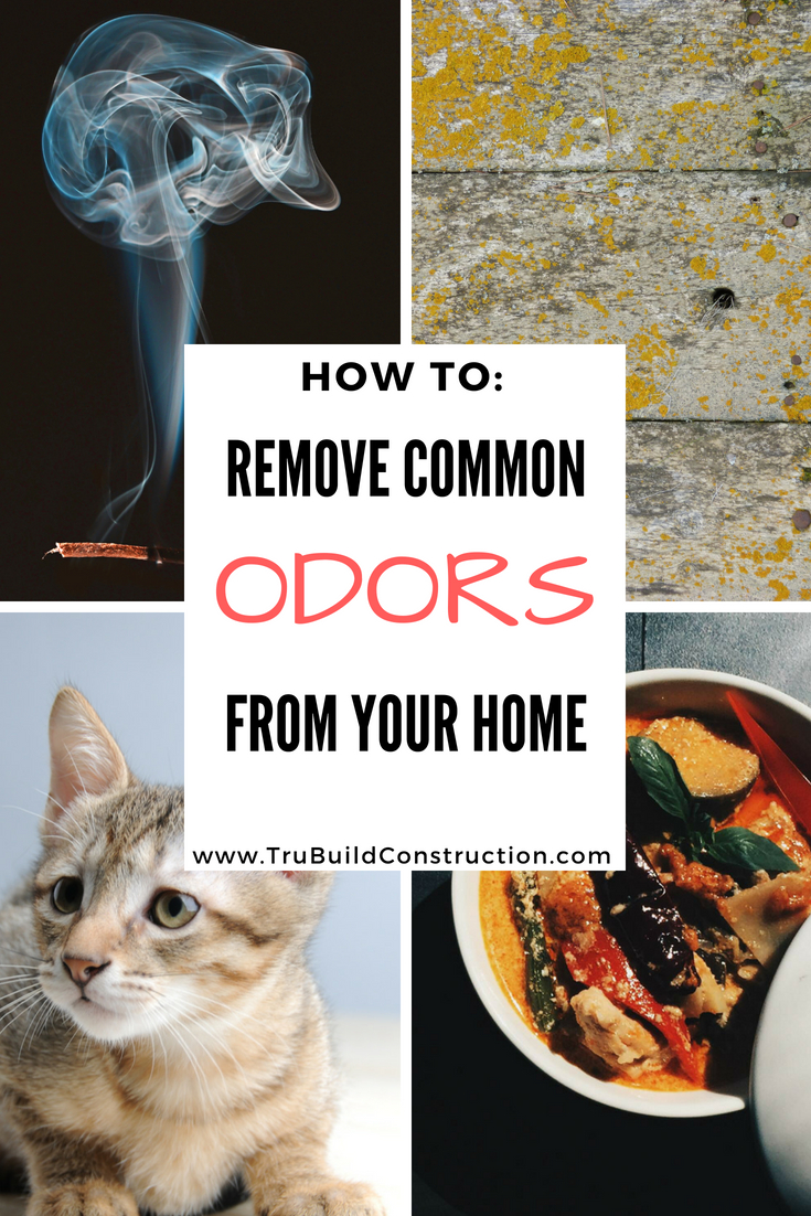 How to remove common odors from your home