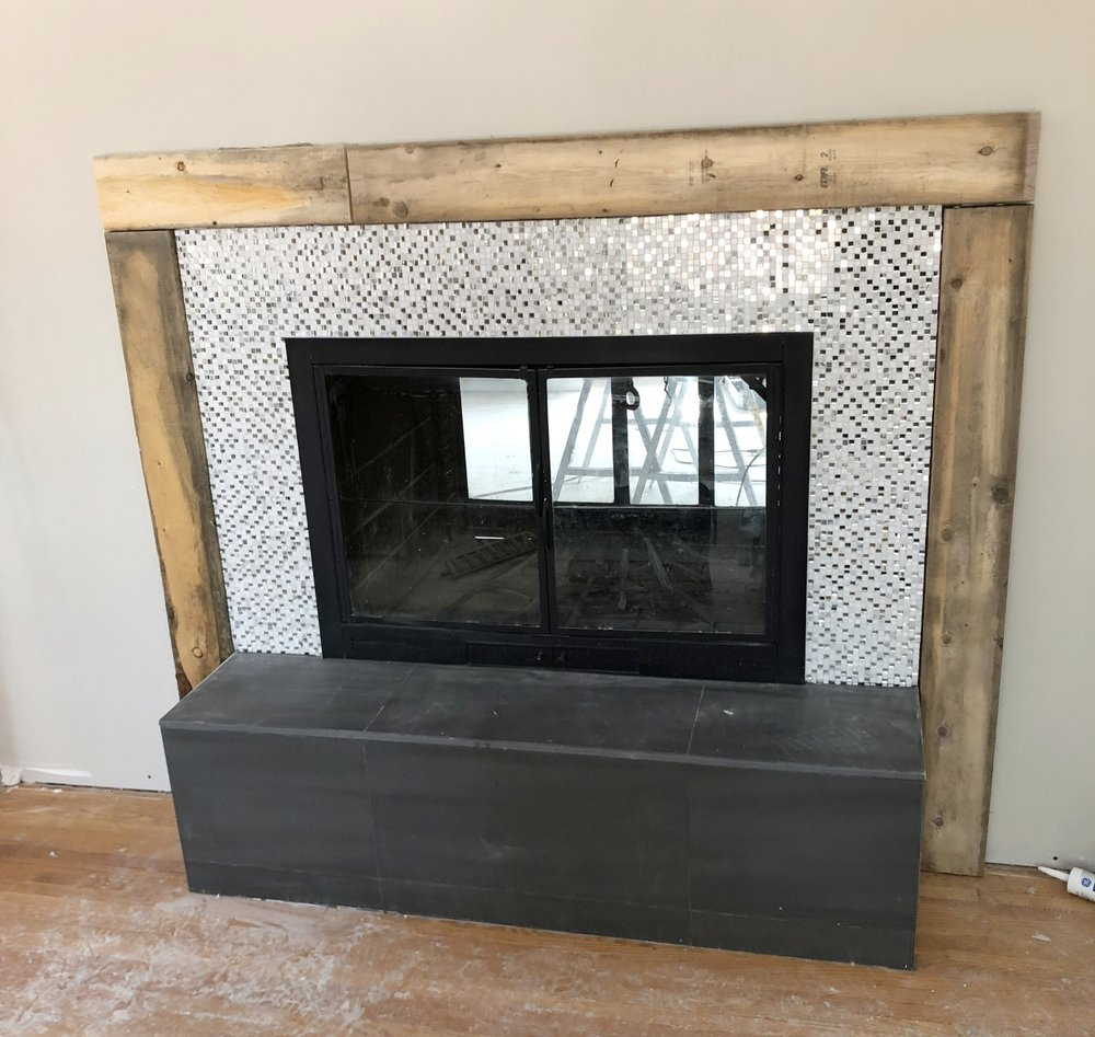 How to Build a Modern Fireplace Mantel - Step One