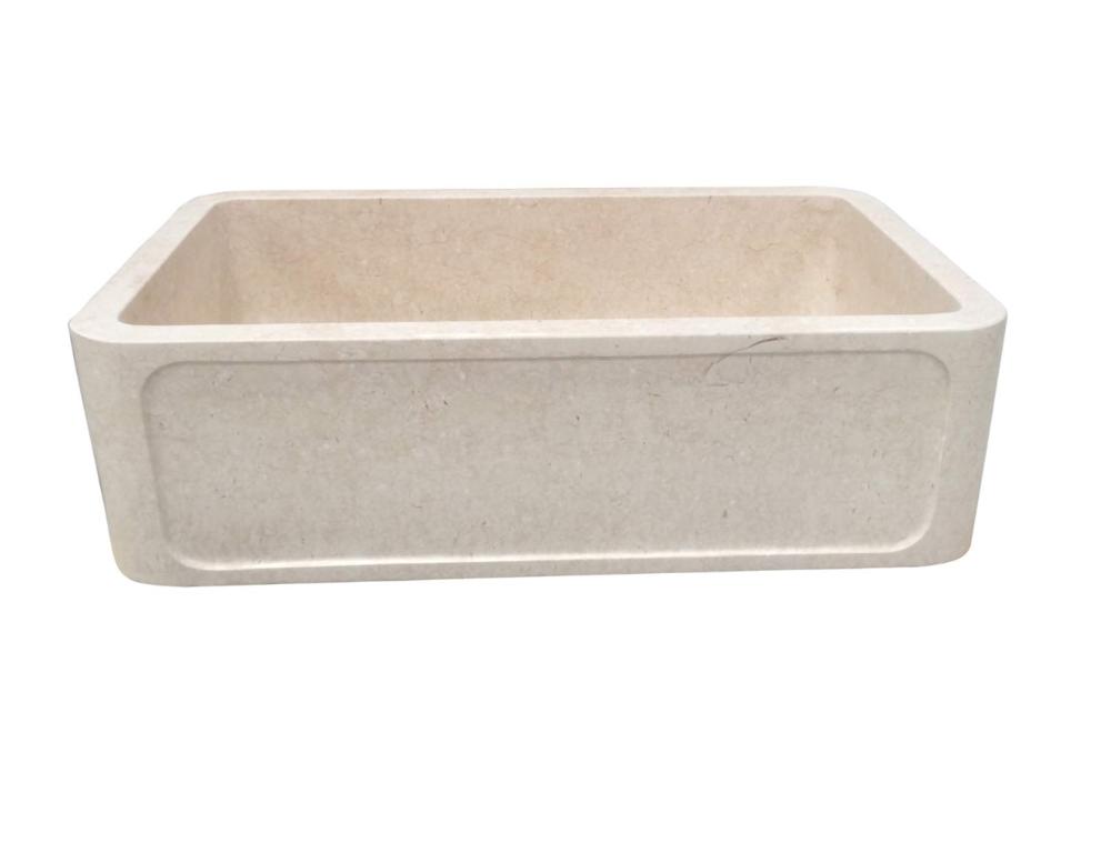 "Elkay Quartz Luxe 35-7/8"" Single Basin Apron Front Kitchen Sink"