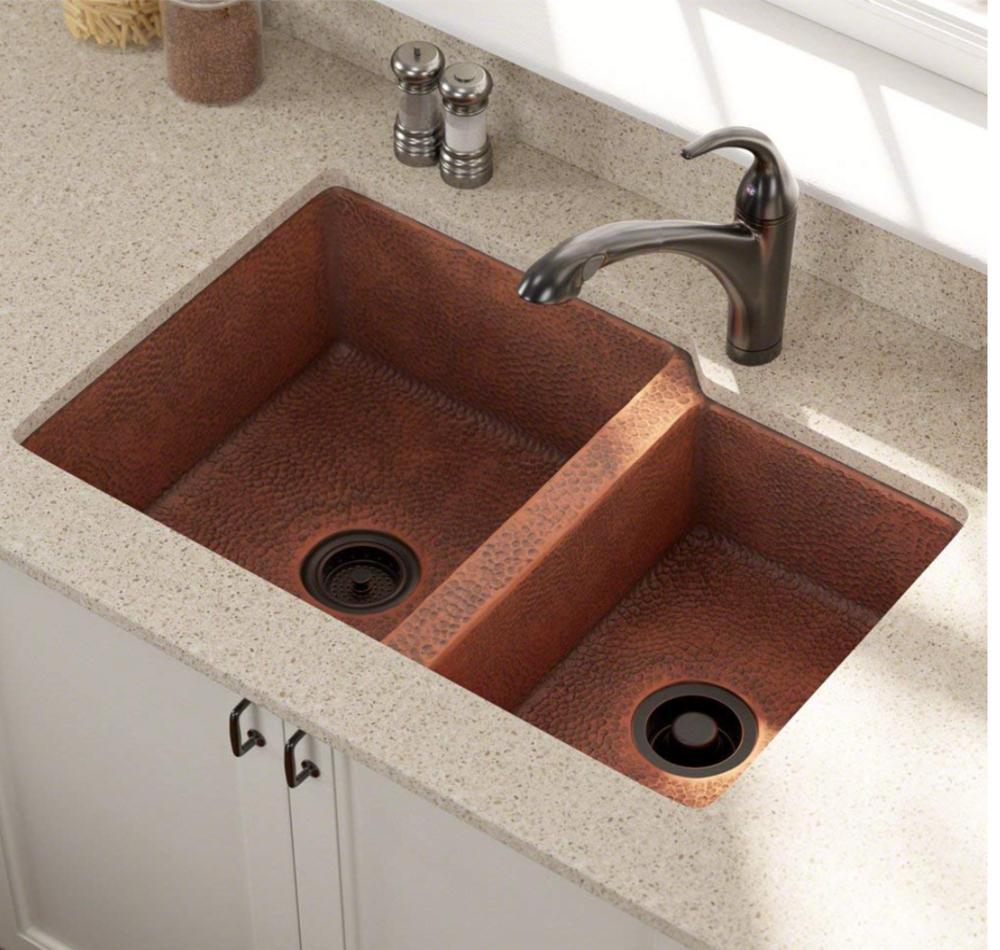 """Elkay Universal 31-1/4"""" Double Basin Undermount Kitchen Sink"""