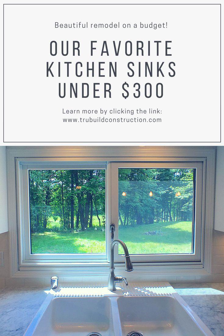 sinks under $300