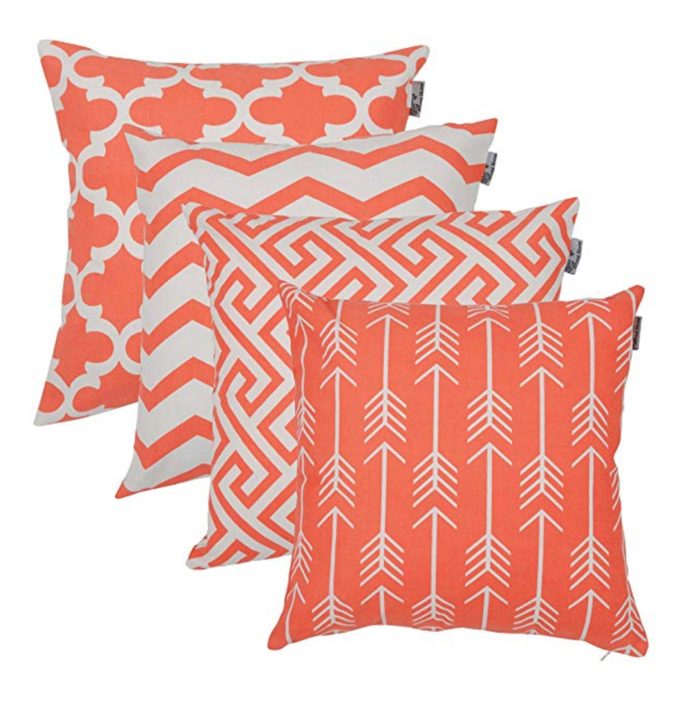 how to incorporate coral into home decor
