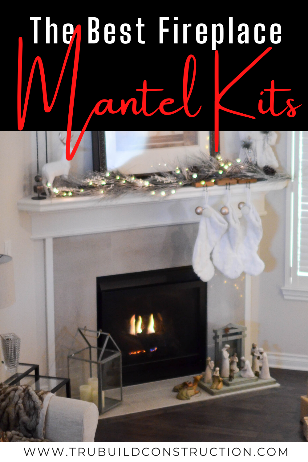 The Best Easy To Install Fireplace Mantel Kits For Your Home Trubuild Construction
