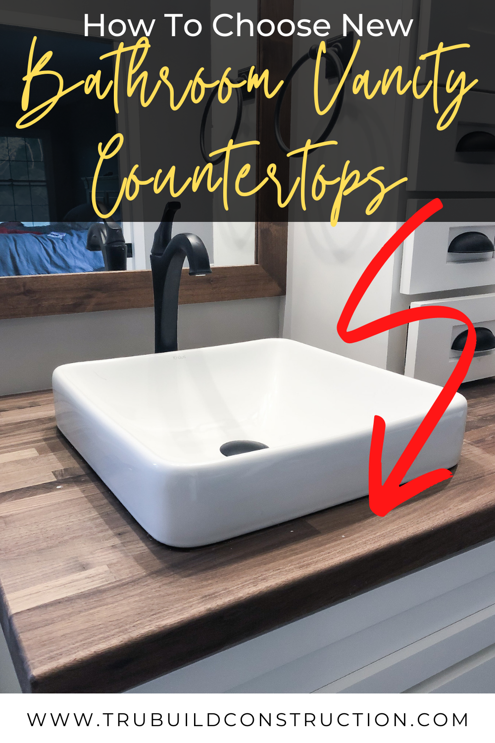 How To Get Replacement Countertops For Your Bathroom Vanity Trubuild Construction