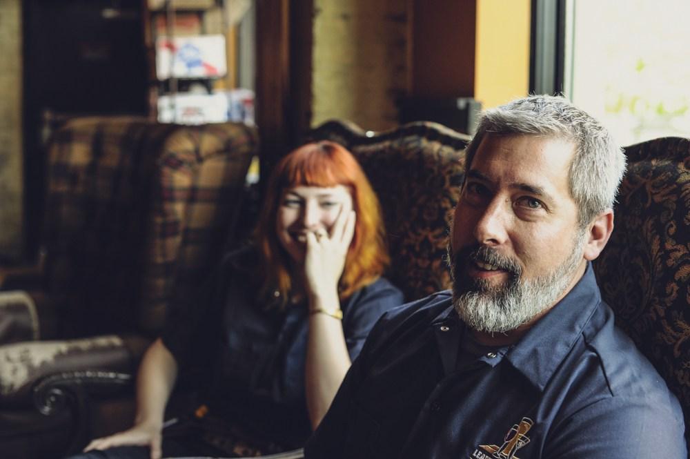 Angela Steil and Drew Larson