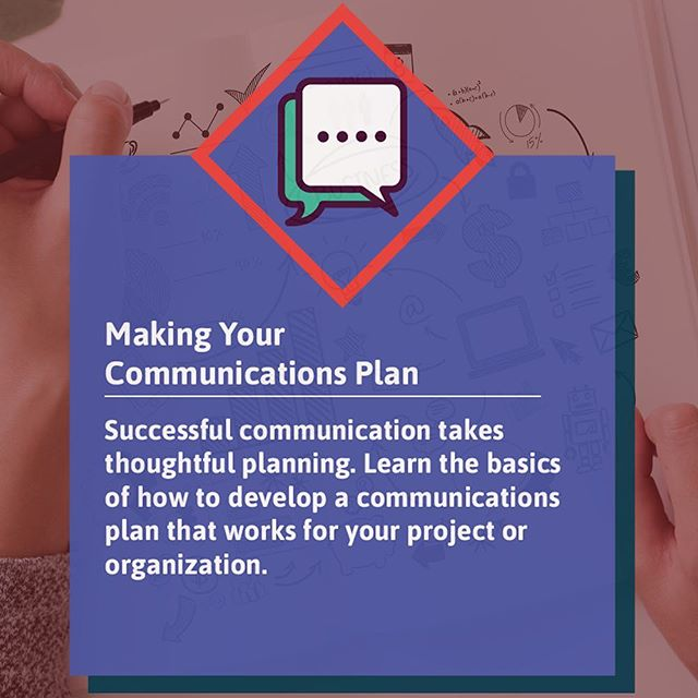 "Overwhelmed by your organization's communications activities? Having issues with messaging or consistency?  Join us for ""Making Your Communications Plan"", a workshop from our Communications Bootcamp on August 29! Space is limited, so register today by following the link in our bio!"