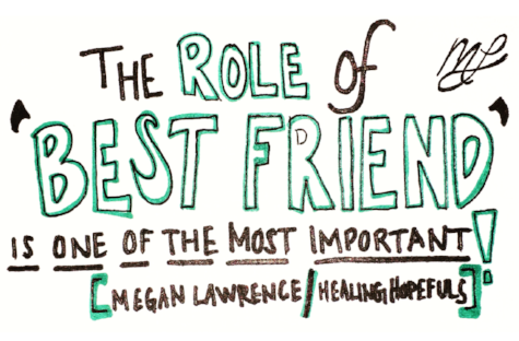 the role of best friend is one of the most important healing