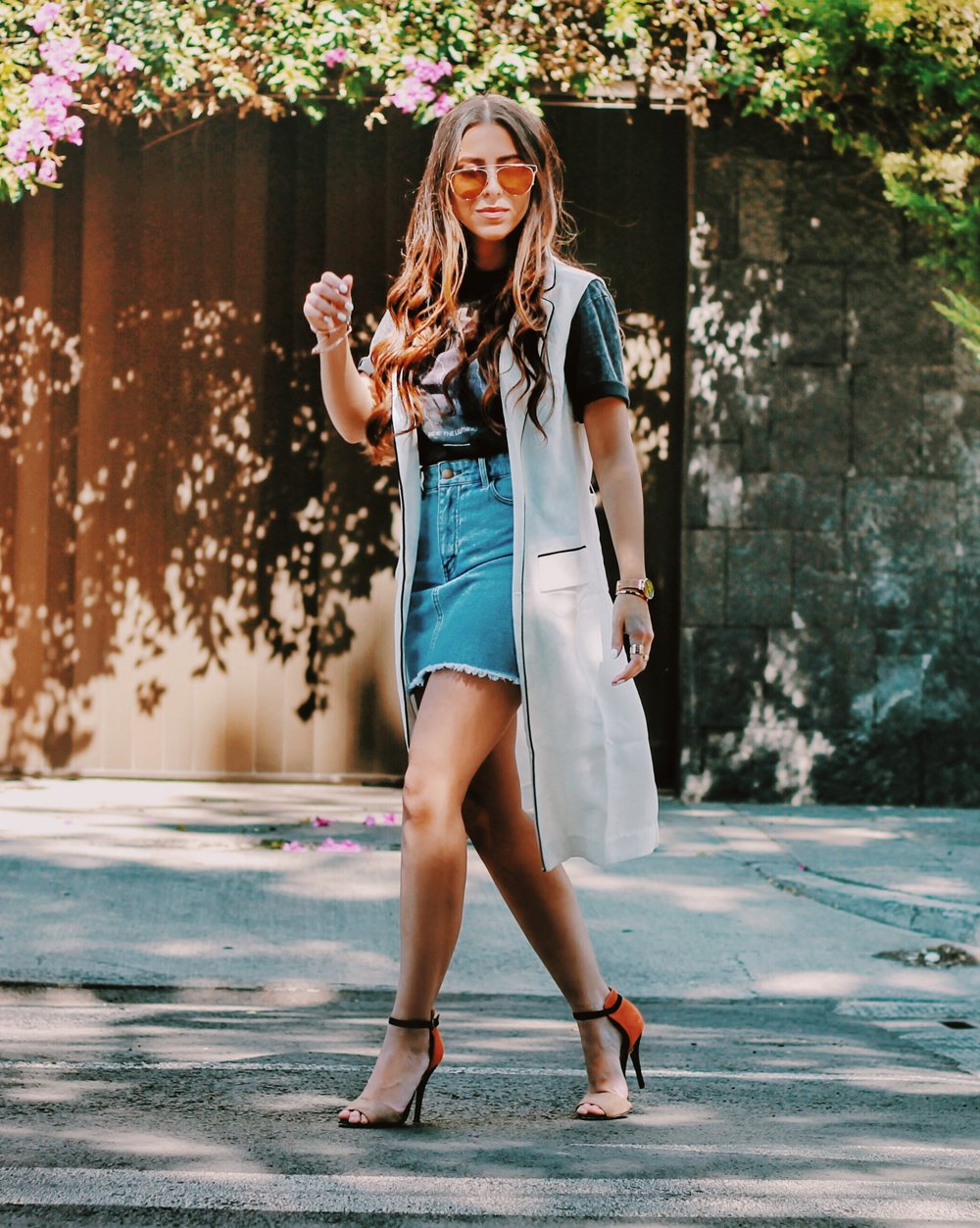 streetstyle-blogger-denim-skirt