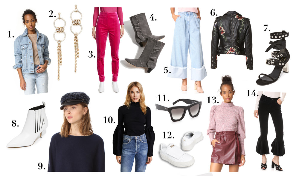 sale shopbop favorites top picks