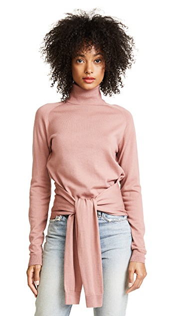 KENDALL & KYLIE TIE FRONT TURTLENECK   SHOP HERE