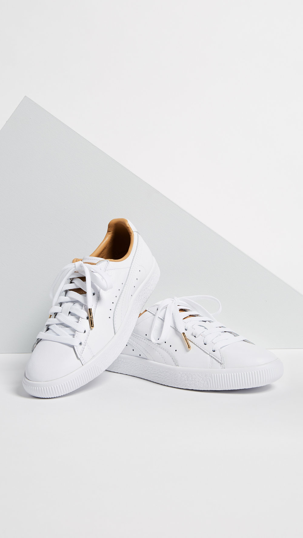 PUMA CLYDE CORE LEATHER SNEAKERS  SHOP HERE