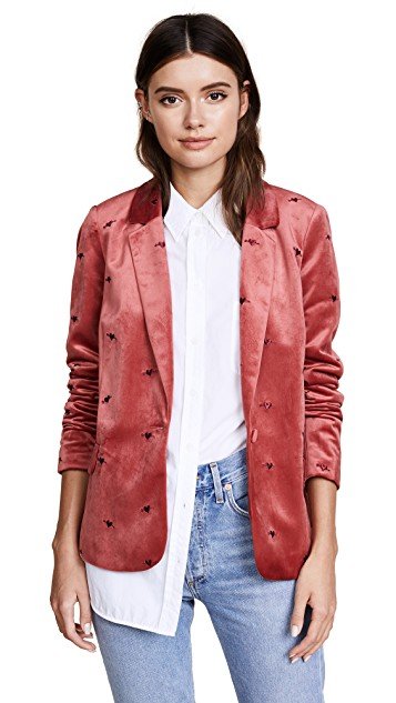Scotch & Soda/Maison Scotch   Velvet Tailored Blazer