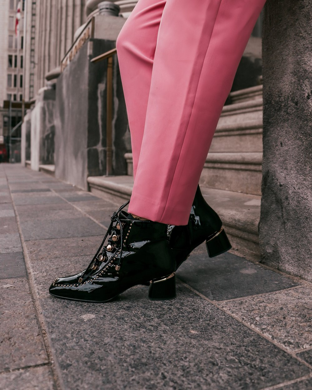 leather boots black and gold.JPG