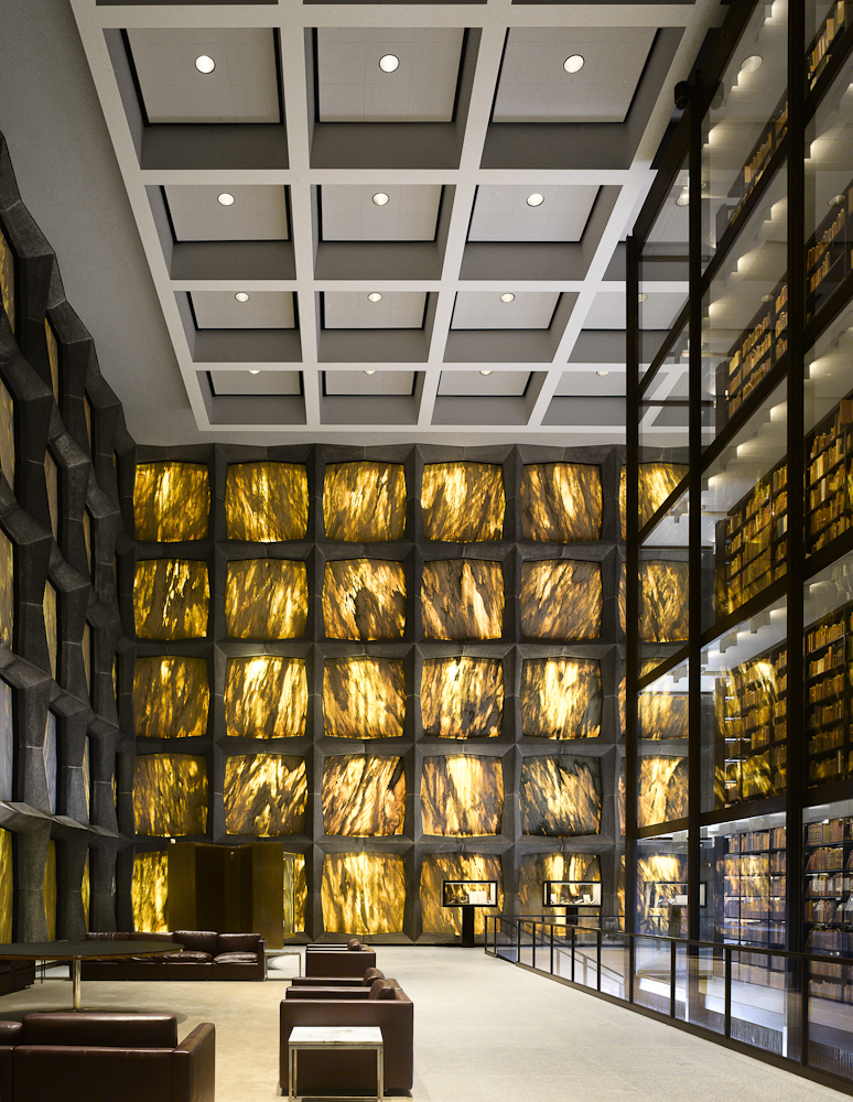 Inside Beinecke