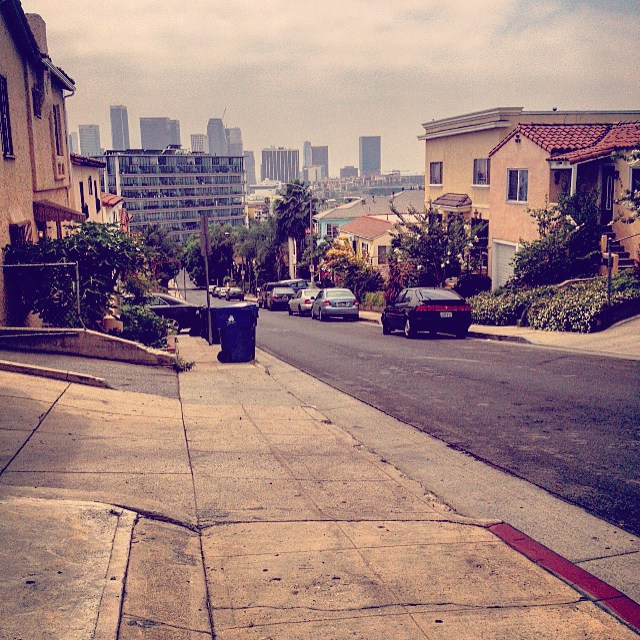 At Commish's Spot… #LA (at Echo Park, Los Angeles)