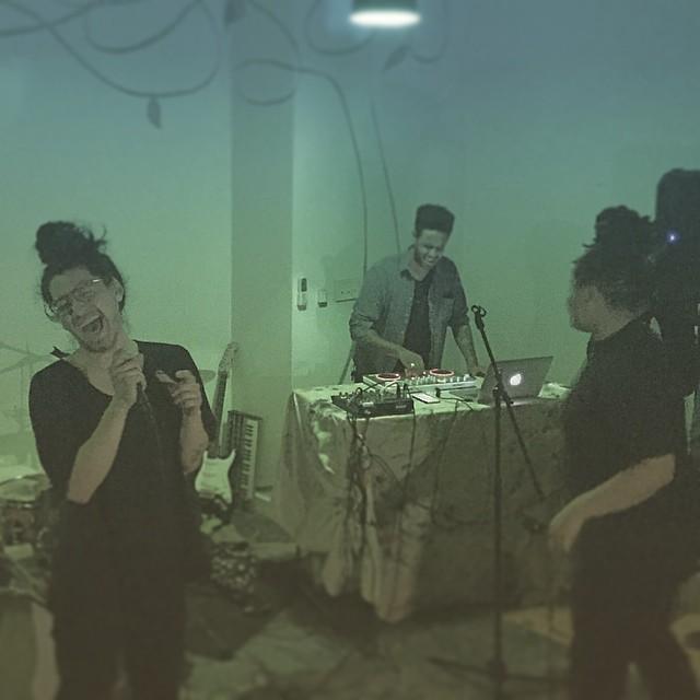 Naptime with Nappy Nina, Ahb, Aron, and Miles. #brooklyn #livemusic