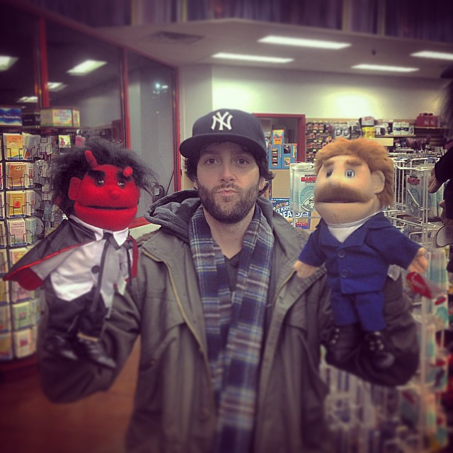 The Good, The Bad, and The Ugly. #travels #truckstop #kooleyhigh #puppets