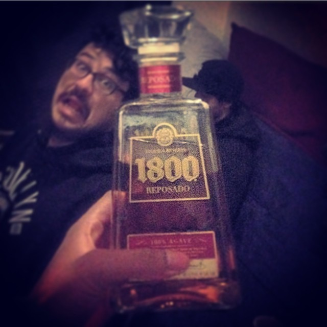 At Dustys… Brought to you by 1800 Tequila.  #1800 #kooleyisdrunk