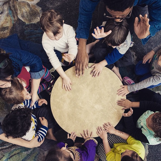 Charlie be out here drumming with the kids. Follow @bijakids for more…