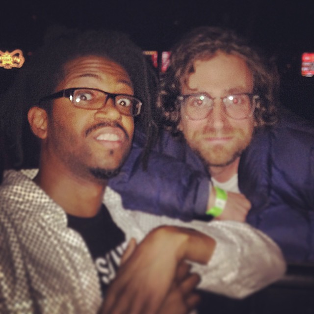 We stalked @kylemooney all night… And it paid off.  Photo by @illnanab #SNL #kooleyisdrunk #kooleyishigh #brooklyn #newyork #latergram #celebs #sporty