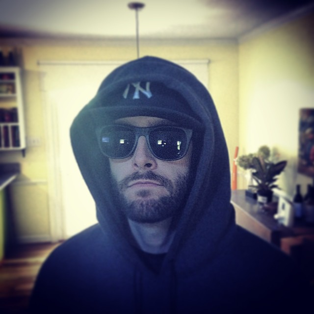 My DJ is the bomb… As in UnaBomber. #doppelganger #unabomber #kooleyhigh #raleigh #tabshouse #ouchere