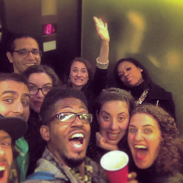 In the Elevator… #TURNT #kooleyishigh #nyc #crew #instagood #bdaycelebrations