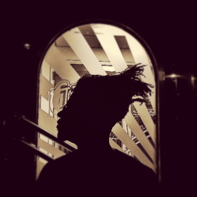 Parting Raleigh is such sweet sorrow. Shots by @halotheemcee #raleigh #diner #kooleyishigh #fam #silhouette #charliesmarts