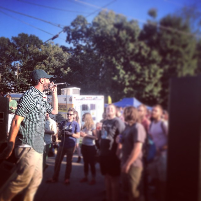 The Gawd @tab_one rocking out at Cooke Street Music Festival. #raleigh #kooleyhigh #djgonzo #bars #northcarolina #igers