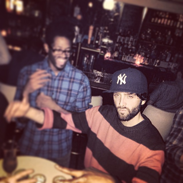 Happy Birthday @djilldigitz!!!! Shouts to @cheebacruz on the PIC. #kooleyisdrunk #brooklyn #commodore #GVC #latergram