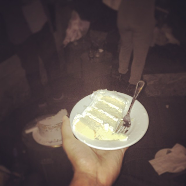 In the club with that Cake.  Last night was mad real…   #brooklyn #vudou #clublife #bday #kooleyisdrunk