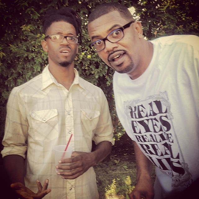 I ran into BLACK JESUS!!!   Peep his show on Adult Swim. #trulyblessed #kooleyishigh #cityofAngels #california @slinkjohnson