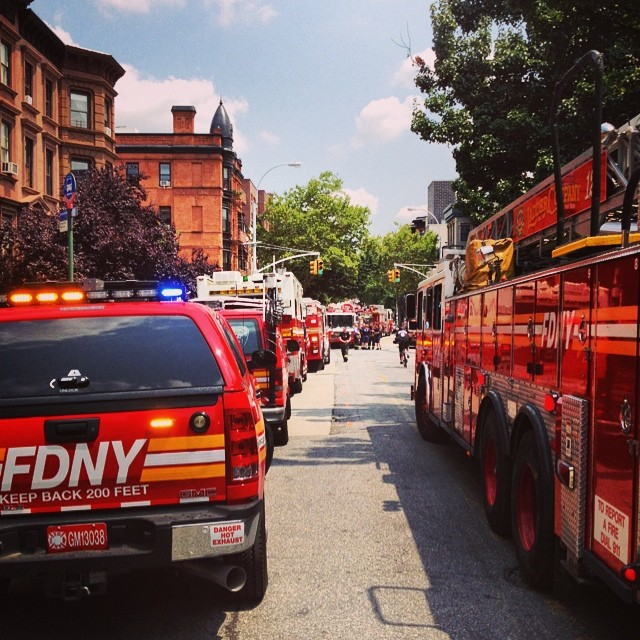The Block is Hot #brooklyn #kooleyishigh #instagood #FDNY