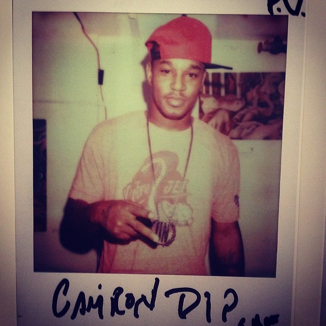 My Dude got the ill Polaroids at this Frank151 event. #dipset #killacam