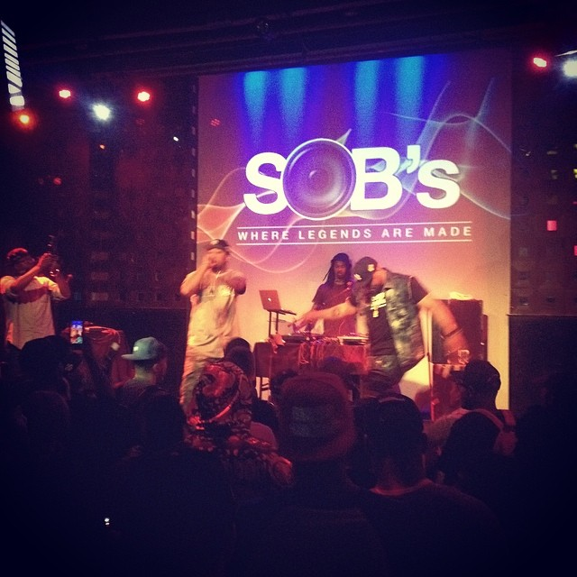At this #barrelbrothers show at SOBs.