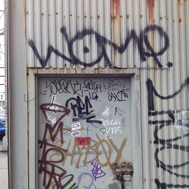 Found another one. #womp #collectthemall #brooklyn #instagraff