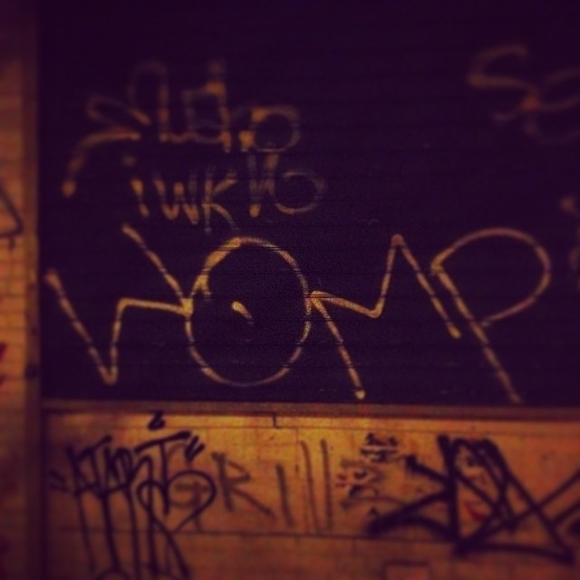 Ouchere. #womp #brooklyn #streetart