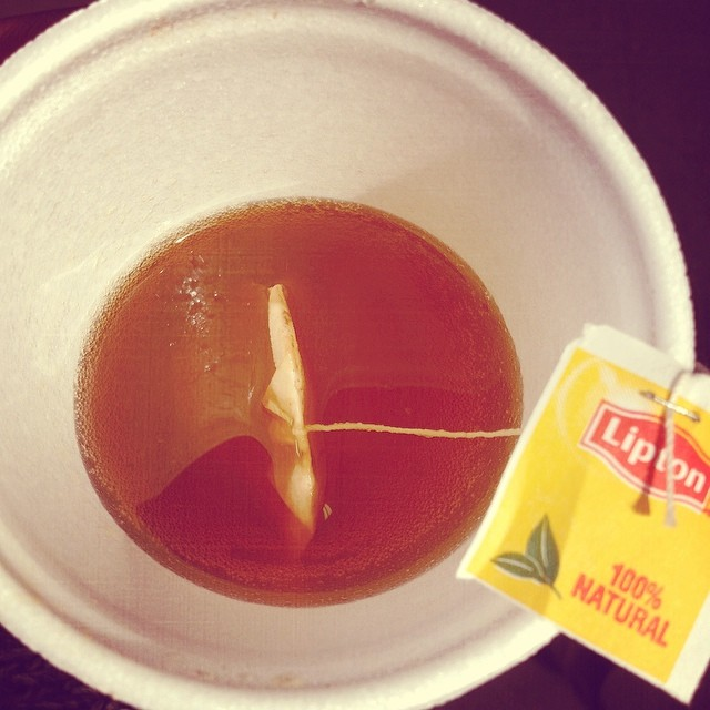 Make me Hot Tea… Hold me down Tea