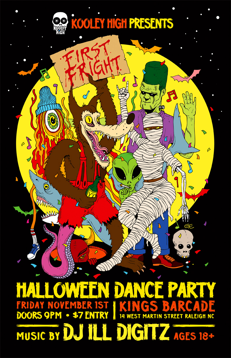 Halloween Party Hosted by Kooley High!!!!!