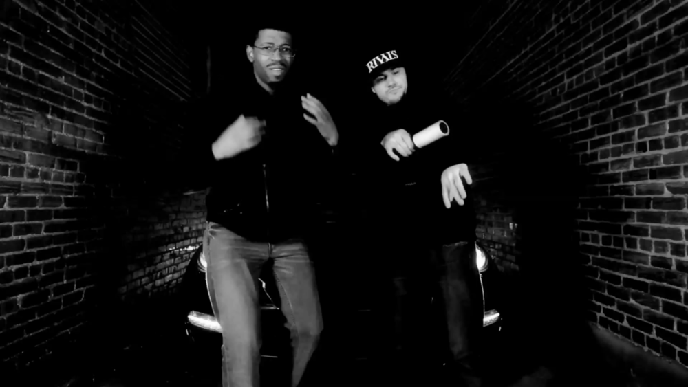 Me and Foolery in Rapsody's All Black Everything Video…  Peep it here: http://www.youtube.com/watch?v=paEL1XA0VAU