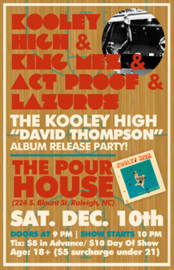 Release show for David Thompson!!