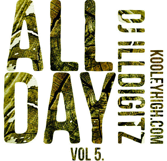 peyegee: Cover image designed for DJ ill Digitz project ALL DAY Vol 5. Click the image