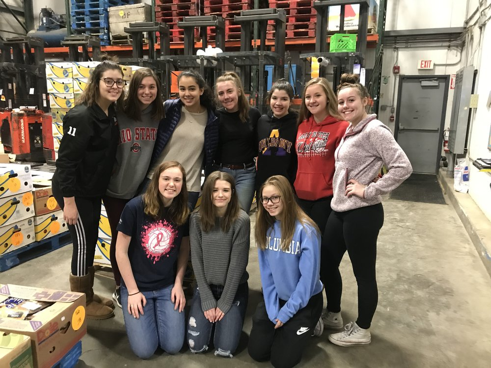 16 Lightning at the Regional Food Bank