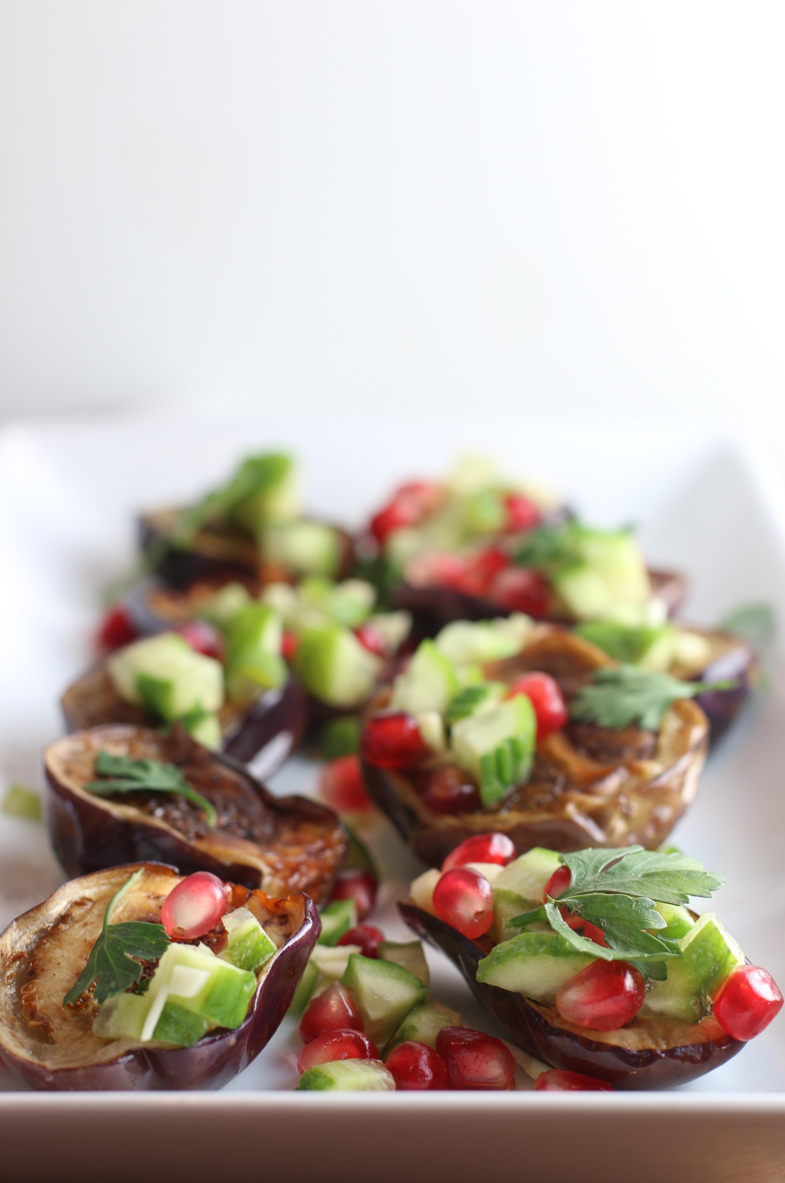 Baby Eggplant Salad