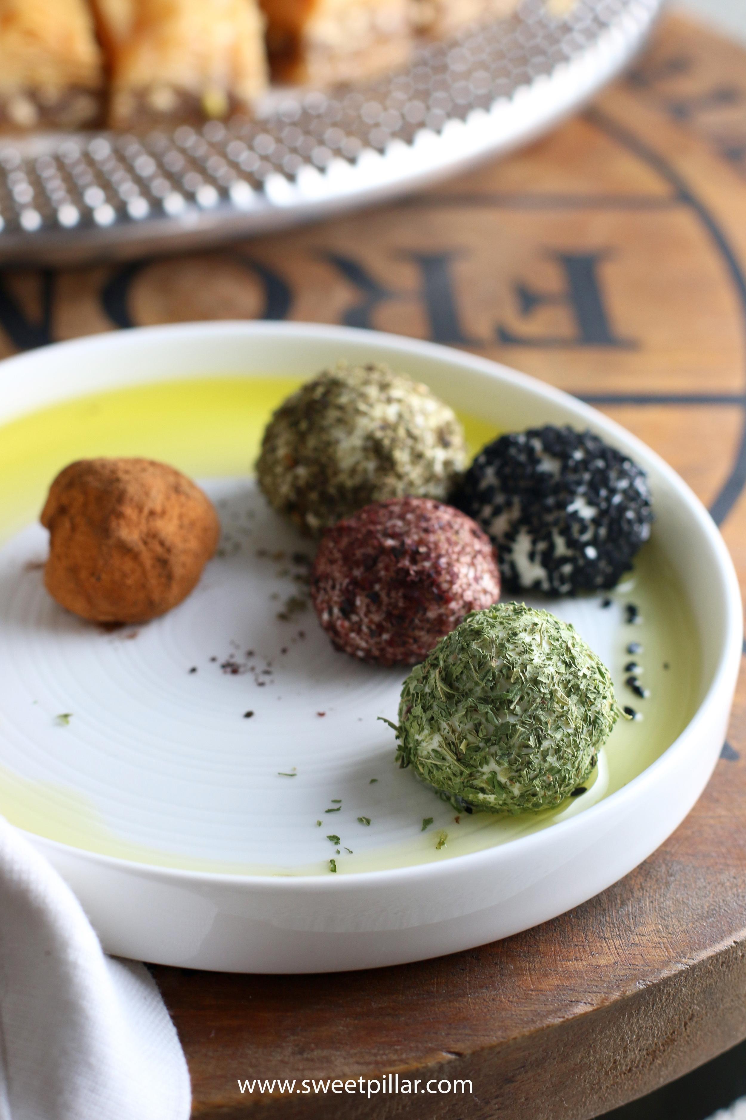 Dried Lebne Balls