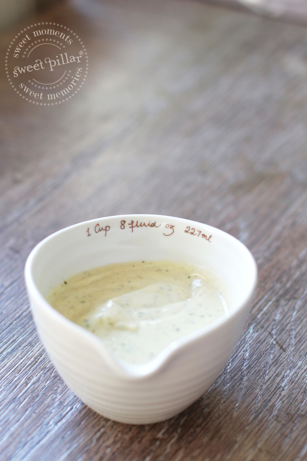 This dressing is everything.  Make some and store for later!