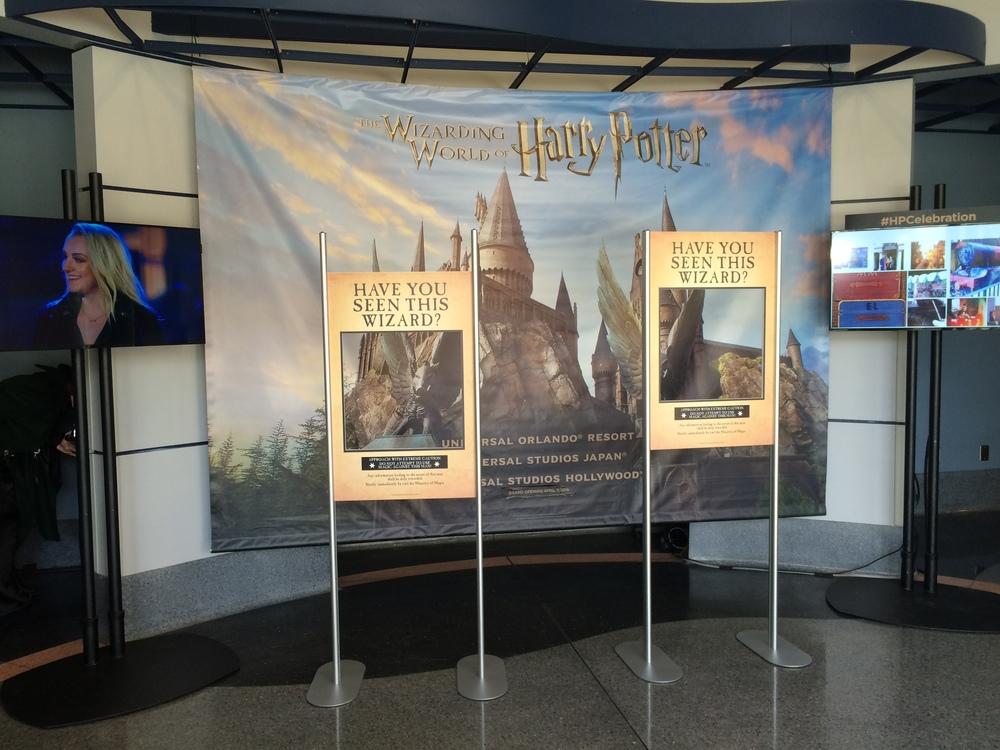 Final Soundstage Lobby Display