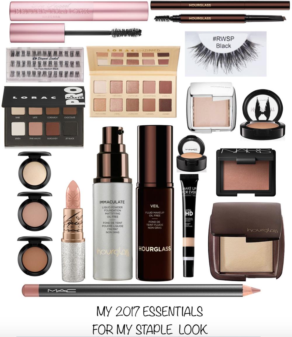 2017 Makeup Essentials
