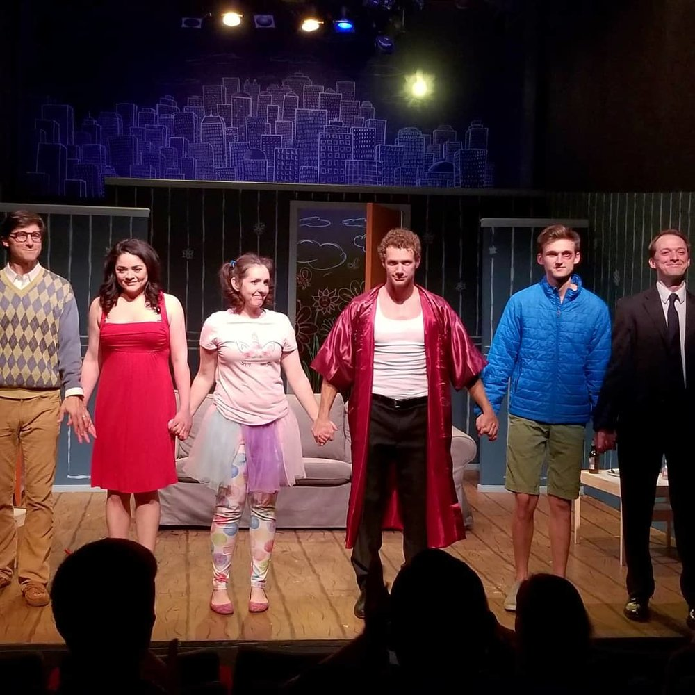 The Cast of Mr. Marmalade. Charlie Farrel, Alyssa Gabrielle Rodriguez, Kaitlin Sullivan, Johnny Wactor, Matt Gardner, Tyler Seiple.